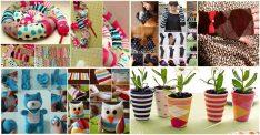 10 Adet Eski Çorapları Değerlendirme Fikri