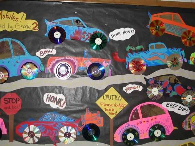 CD'lerle Çocuk Odası Dekoru Yapımı