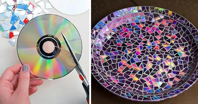 CD'lerle Obje Kaplama