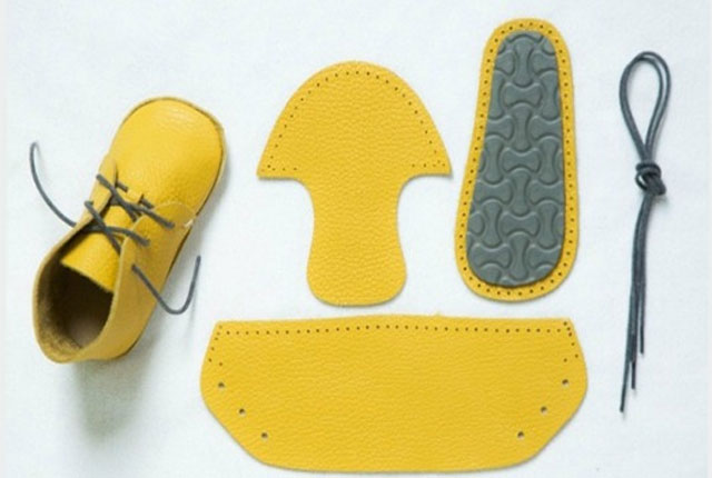 Deri Bebek Ayakkabısı Yapımı