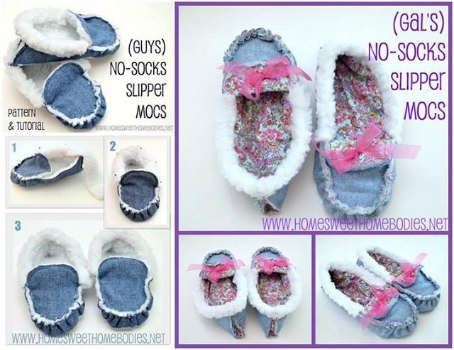 Eski Kotlardan Bebek Ayakkabısı Yapımı