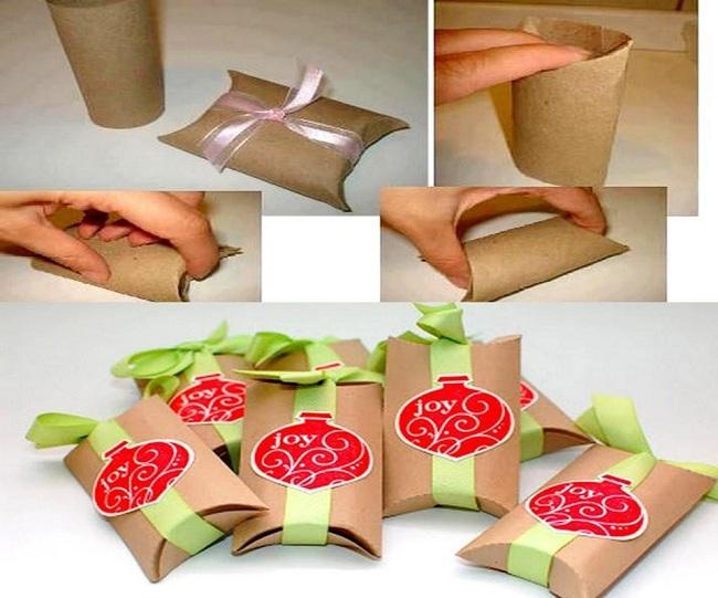 Kağıt Rulolarından Paket Yapımı