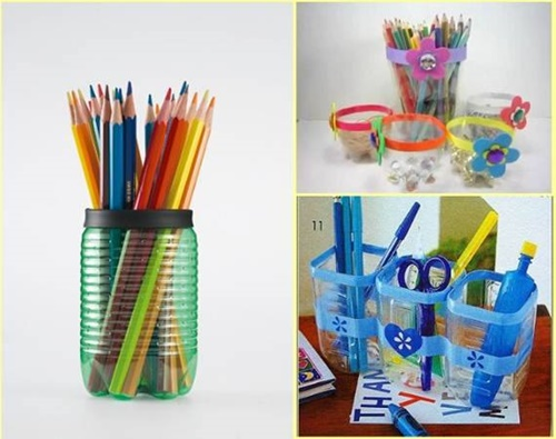 Plastik Şişelerden Kozmetik Bardağı Yapımı 2