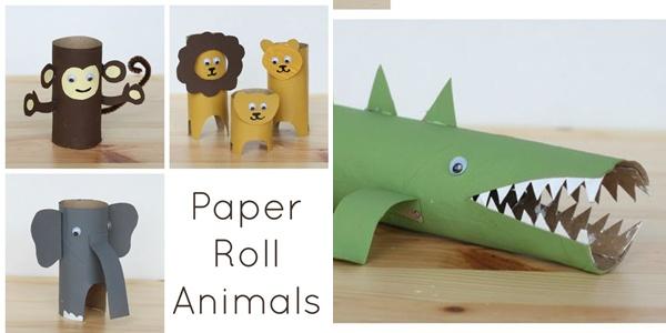 Tuvalet Kağıdı Rulolarıyla Çocuk Oyuncakları Yapımı 3