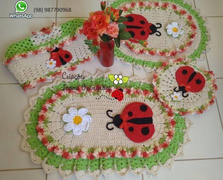 Uğur böceği klozet takımı
