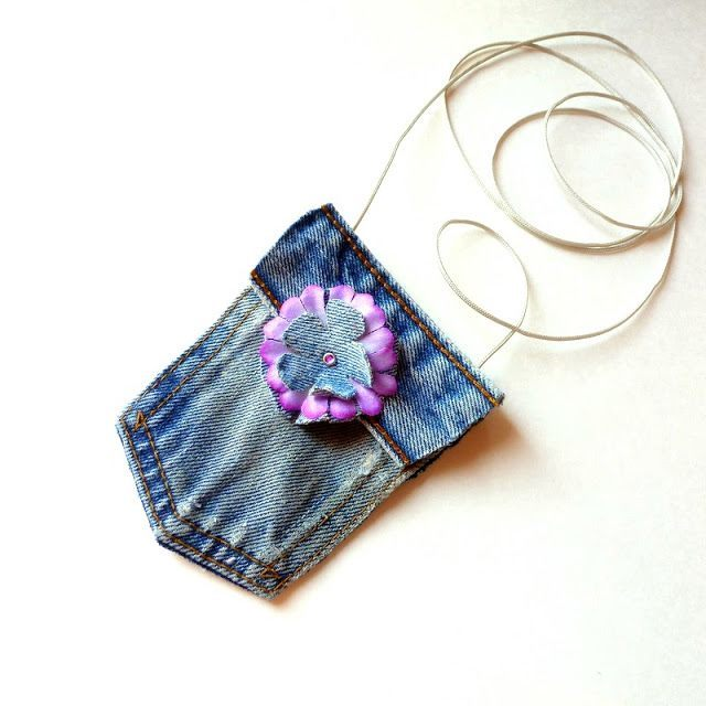 Kot Pantolondan Mini Çanta Yapımı 1