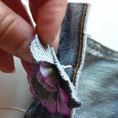 Kot Pantolondan Mini Çanta Yapımı 11
