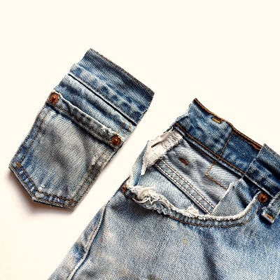 Kot Pantolondan Mini Çanta Yapımı 2
