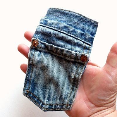 Kot Pantolondan Mini Çanta Yapımı 3