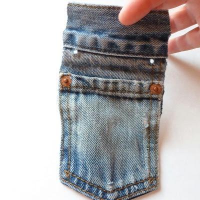 Kot Pantolondan Mini Çanta Yapımı 5