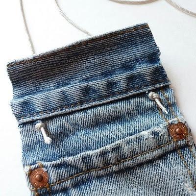 Kot Pantolondan Mini Çanta Yapımı 6