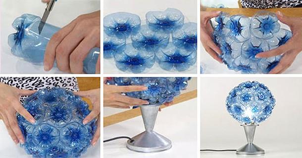 Plastik Şişeden Abajur Yapımı