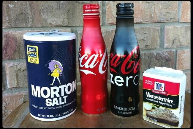 Coca Cola ŞişelerindenTuzluk ve Baharatlık Yapımı