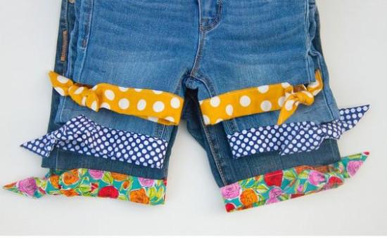 Kot Pantolonunuzu Şık Bir Şorta Dönüştürün 2
