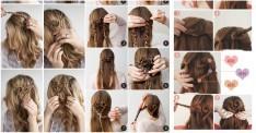 Kalp Şeklinde Yapabileceğiniz 5 Sıradışı Saç Modeli