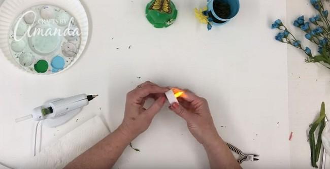 Pet Şişeden Şirin Bir Gece Lambası Yapımı 22