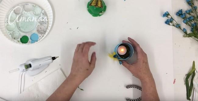 Pet Şişeden Şirin Bir Gece Lambası Yapımı 23