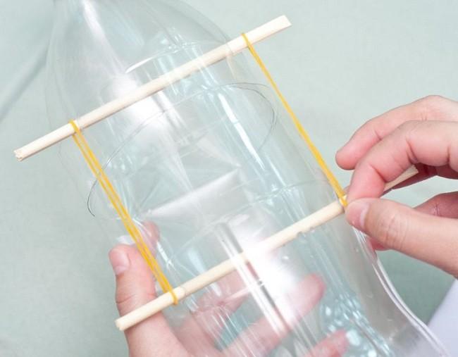 Pet Şişeden Zekice Bir Fare Kapanı Tasarımı 11