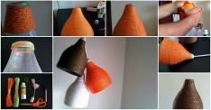 Pet Şişeden İnanılmaz Bir Lamba Yapımı