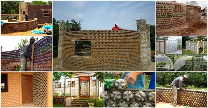 Pet Şişelerden Ev Yapımı