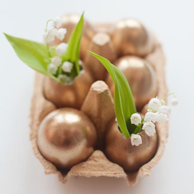 Yumurta Kabuklarından Bronz Süs Eşyası Yapımı