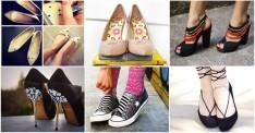 12 Adet Mükemmel Ayakkabı Yenileme Fikri