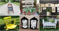 6 Adet Sıradışı Sandalye Yenileme Fikirleri