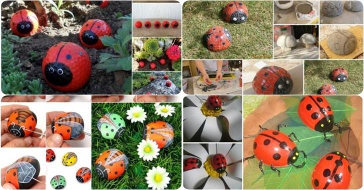 Bahçenizi Süslemek İçin 4 Farklı Uğur Böceği Tasarımı