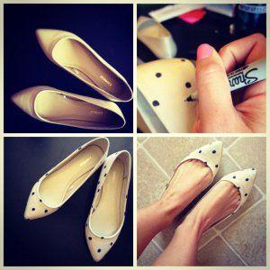 Benekli Ayakkabı Yenileme