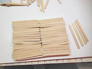 Dondurma Çubukları ile Yapılan Çerçeve Modeli 2