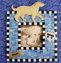 Evcil Hayvan Figürlü Çerçeve Modeli