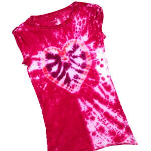 Kalpli Tie Dye Tişört Modeli 7