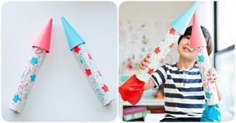 Kartondan Roket Yapımı