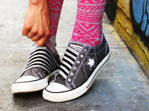 Lastık Kumaş ile Ayakkabı Yenileme