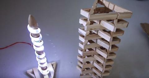 Mandallardan Lamba Yapımı 11
