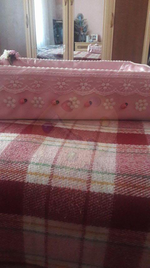 Plastik kasa ile bebek yatağı yapımı 5
