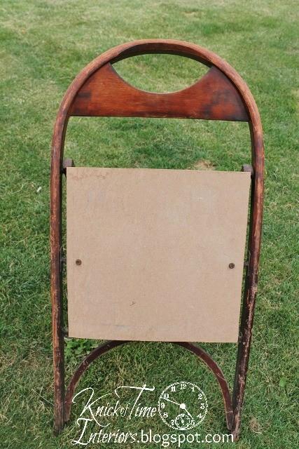 Sandalyeden İlan Tahtası Yapımı 3