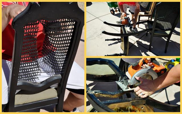 Sandalyeden Resim Çerçevesi Yapımı 3