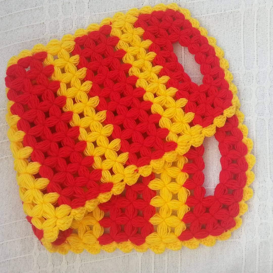 Sarı kırmızı uzun lif