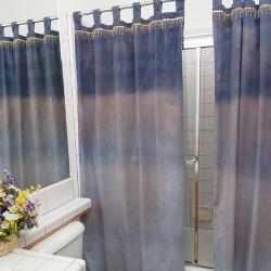 Tie Dye Yöntemi ile Duş Perdesi Süsleme