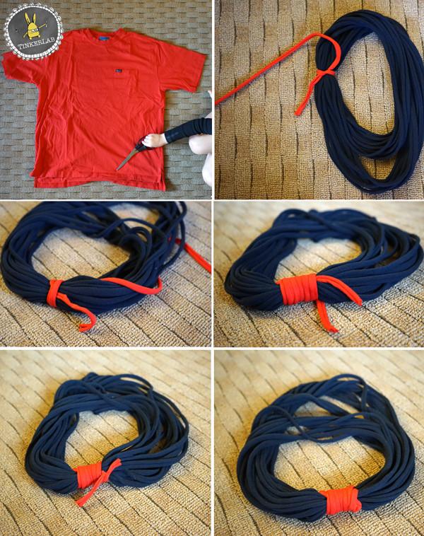 Tişörtlerden Fular Yapımı 2