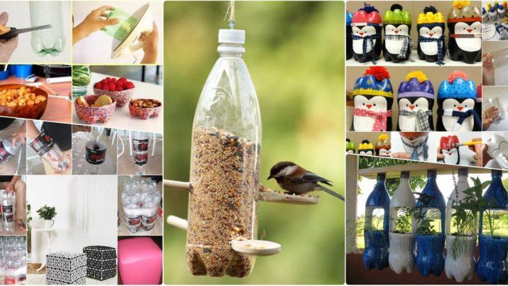 7 Adet Plastik Kola Şişelerinden Yapılan Geri Dönüşüm Projeleri