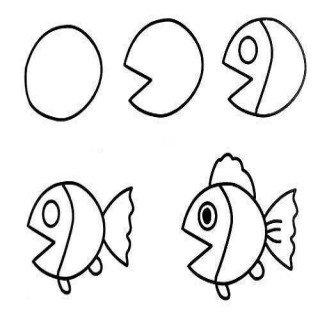 Basit Balık Çizimi