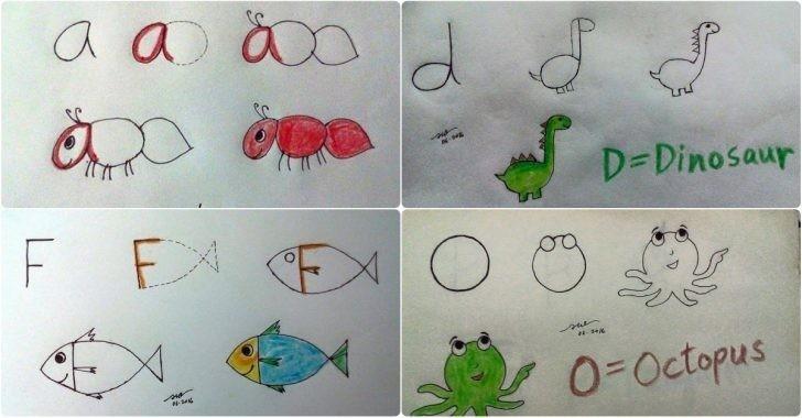 Basit Hayvan Resmi Çizimleri