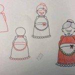 Büyükanne Çizimi