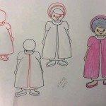 Büyükanne Resmi Çizimi