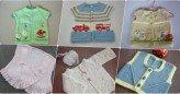 El Yapımı Örgü Bebek Yelekleri