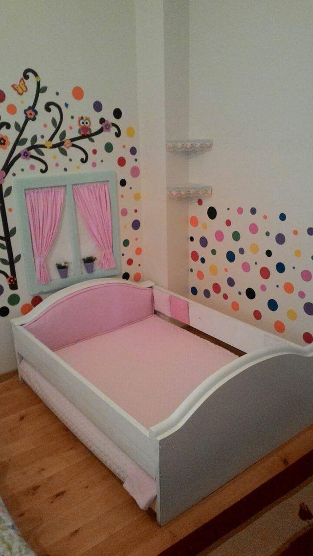 Eski Vitrinden Çocuk Yatağı 1