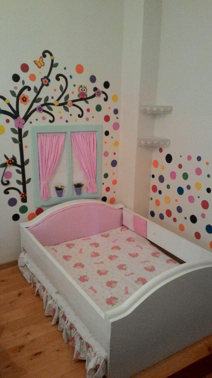 Eski Vitrinden Çocuk Yatağı 3