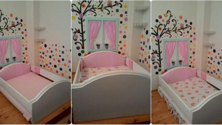 Eski Vitrinden Çocuk Yatağı Yapımı